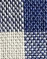 Tissu Vichy, bleu et blanc à carreaux