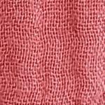 Tissu double gaze brique