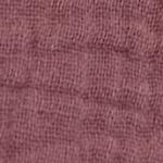 Tissu double gaze mauve