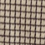 Noir et blanc en coton laine et soie