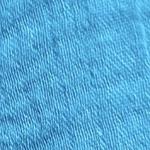 Double gaze de coton bleu vert